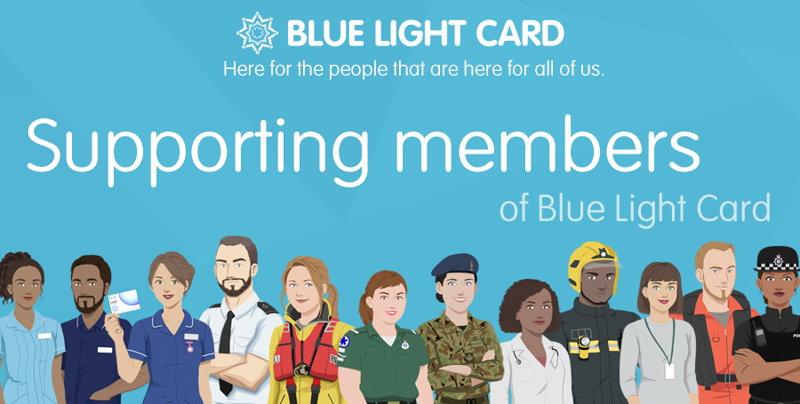 Framesfoundry is supporting members of Blue Light Card