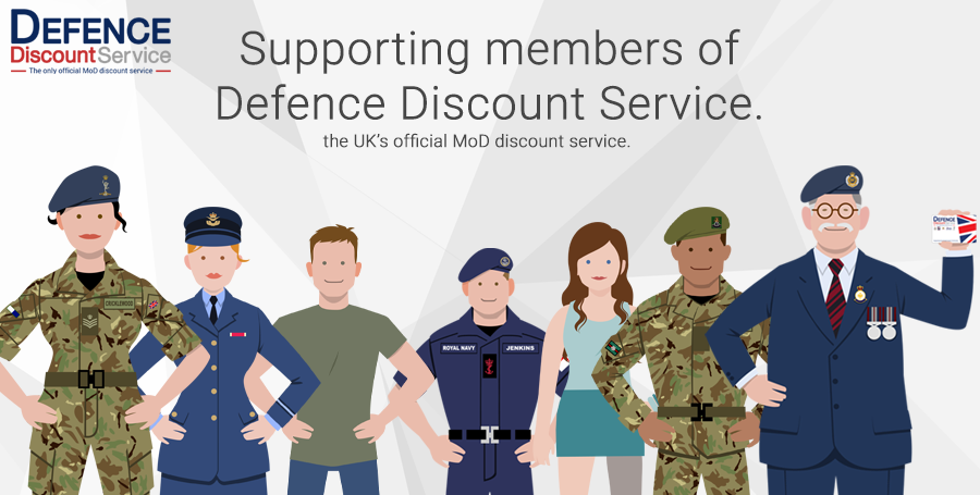 Framesfoundry supporting members of Defence Discount Service