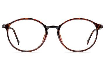 MCFC5501 Round Tortoise Shell Glasses