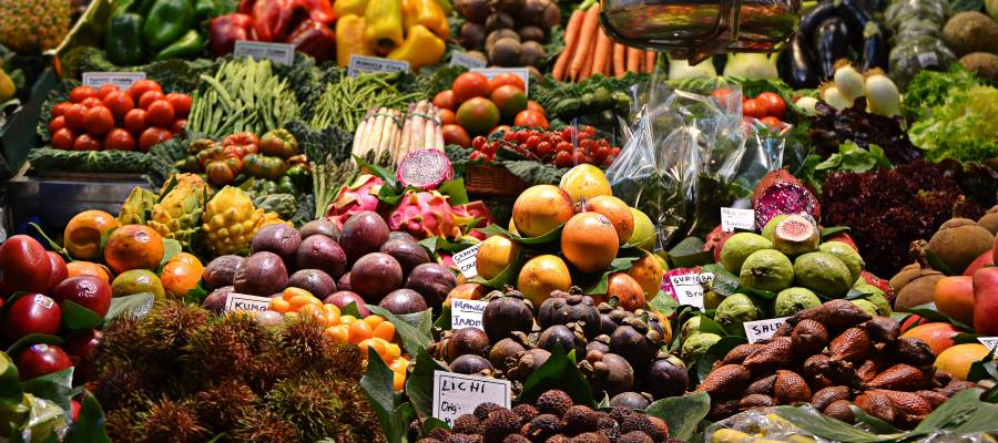 Fruits and vegetables for your eye health